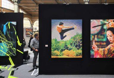 Urban Art Fair 2016, Carreau du Temple - Galerie 42b, Paris (FR)