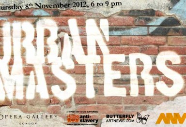 «Urban Masters», Group exhibition, Opera Gallery , London, 2012