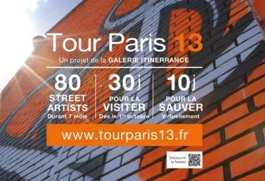 « Tour Paris 13 » - Galerie Itinerrance, Paris 2013
