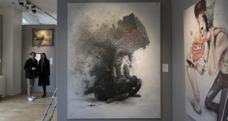 Artcurial-Urban Art-auction : Mark Jenkins - Bom.k - Blo