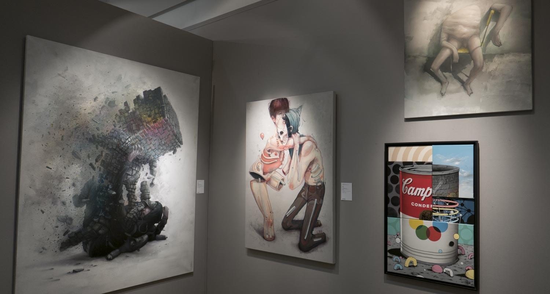 Artcurial-Urban Art-auction : Bom.k - Blo - Gris1
