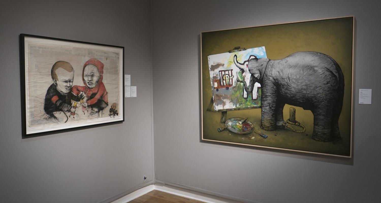 Artcurial-Urban Art-auction : Dran