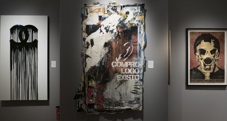 Artcurial-Urban Art-auction : Zevs - Vhils - Shepard Fairey