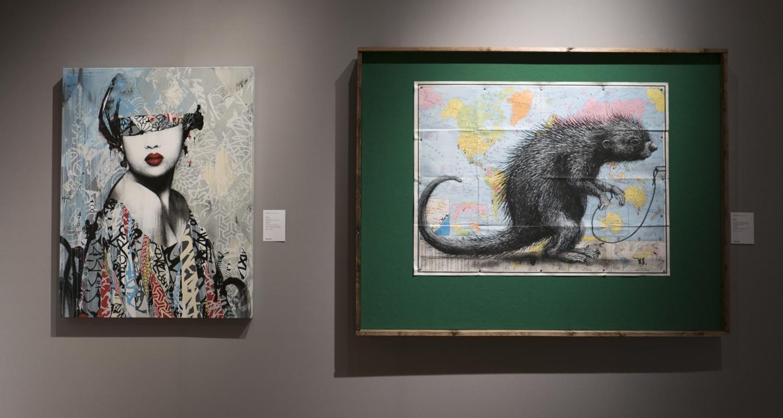 Artcurial-Urban Art-auction : Hush - Roa