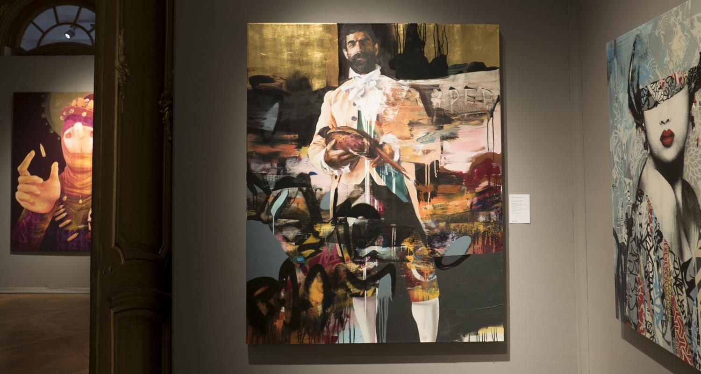 Artcurial-Urban Art-auction : Inti Castro - Conor Harrington - Hush