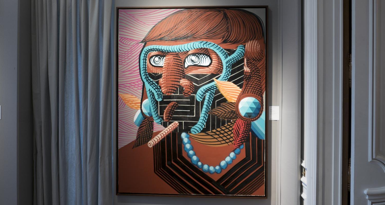 Artcurial-Urban Art-auction : Nunca