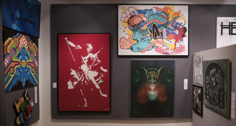 Artcurial-Urban Art-auction : Cornbread - Seize Happywallmaker - Retro Graffitism - Blek le rat - Rime & Persue - Nick Walker - Sten & Lex - C215 - Speedy Graphito