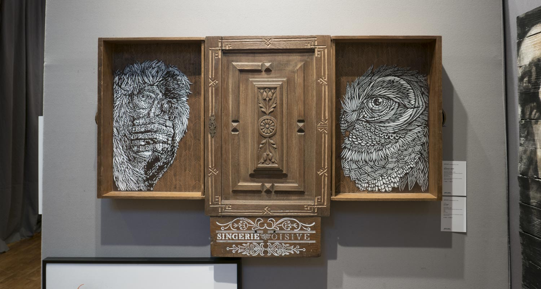 Artcurial-Urban Art-auction : Monkey Bird