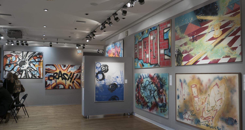 Artcurial-Urban Art-auction : Crash - Seen - Futura 2000 - Blade - A-One - Kool Koor
