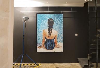 Attention ! Peinture Fraiche Groupshow, Galerie 42b, Paris