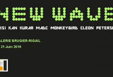 New Wave Groupshow - Galerie Brugier-Rigail, Paris (FR)